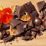Chopped Chocolate with Orange Flower