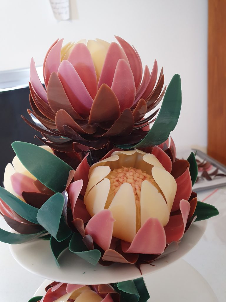 Protea Flower Sculpture