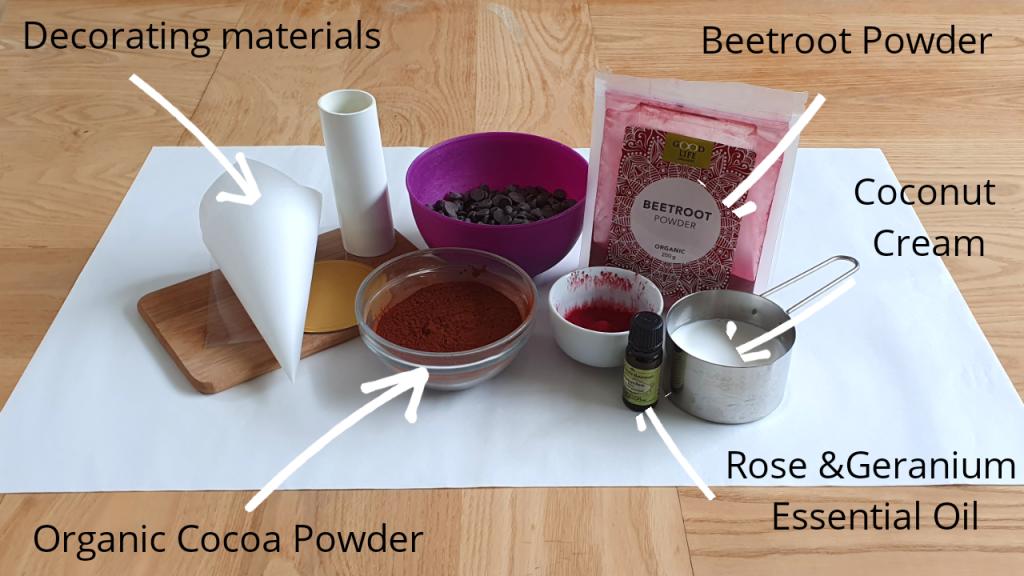 Rose & Geranium Truffles Ingredients